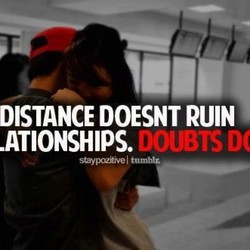 DISTANCE DOESNT RUIN 