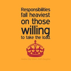 Responsibilities 