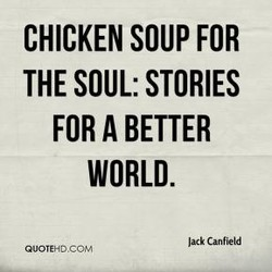 CHICKEN SOUP FOR 