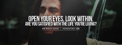 OPEN YOUR EYES LOOK WITHIN 