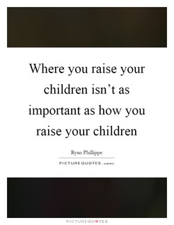 Where you raise your 