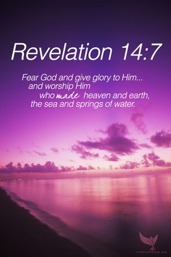 Revelation 14: 7 