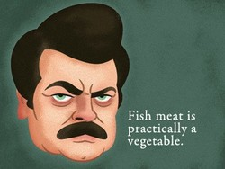 Fish meat is 