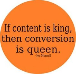 If content is king, 