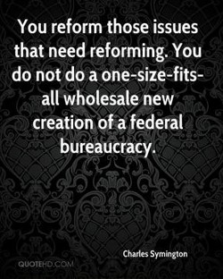 You reform those issues 
