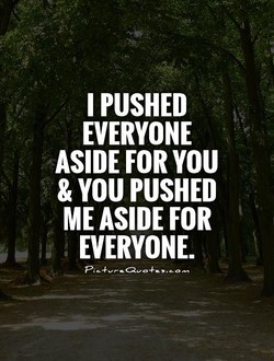 I PUSHED 