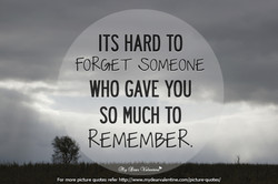 ITS HARD TO 