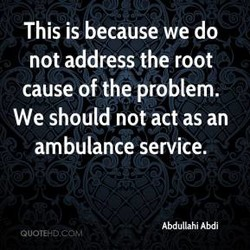 This is because we do 
