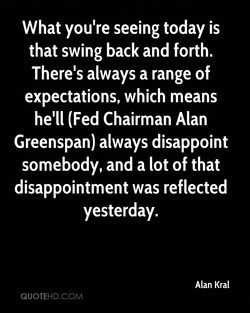 What you're seeing today is 