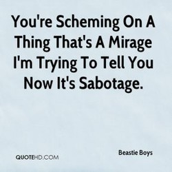 You're Scheming On A 