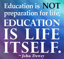Education is O 