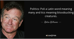 Politics: Poli a Latin word meaning 
