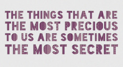 THE TH\NGS THAT ARE 
