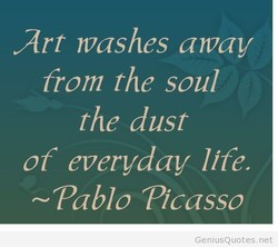 Art washes away 