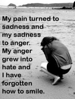 My pain turnedto 