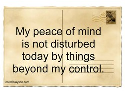 My peac 