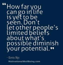 How far you 