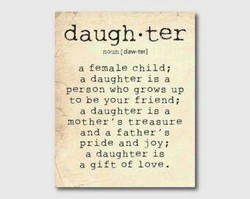 daugh •ter 