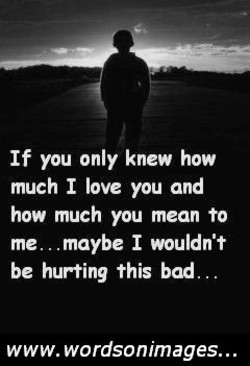 If you only knew how 