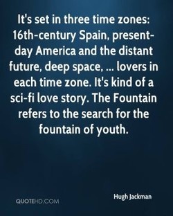 It's set in three time zones: 