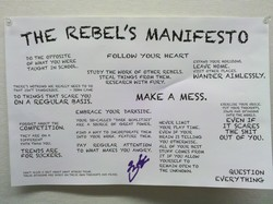 REBEL'S MANIFESTO 