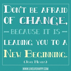 D0N'T BE AFRAID 