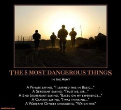 THE 5 MOST DANGEROUS THINGS 