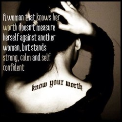 I woman Åavknows her 