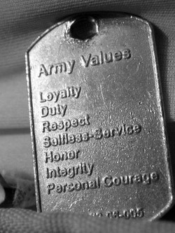 the seven army values