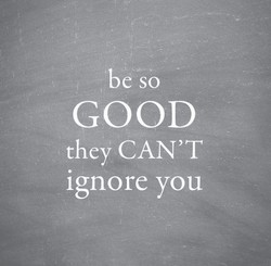 be so 