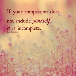 If your compassion does 