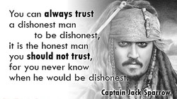 You can always trust 