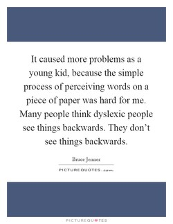 It caused more problems as a 