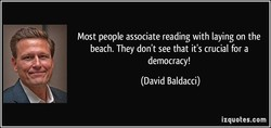 Most people associate reading with laying on the 