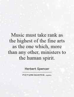 Music must take rank as 