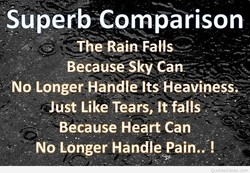 Superb Comparison 