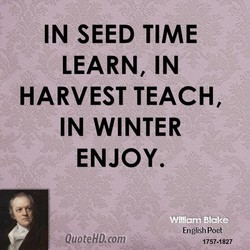 IN SEED TIME 