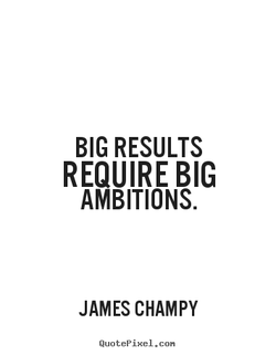 BIG RESULTS 