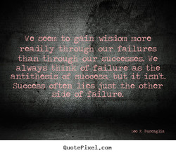We &/iÉdom more 
