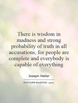 There is wisdom in 