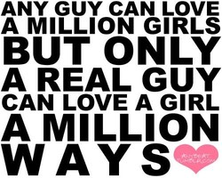 ANY GUY CAN LOVE 