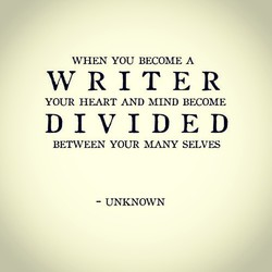 WHEN YOU BECOME A 