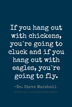 If you hang out 