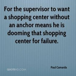For the supervisor to want 