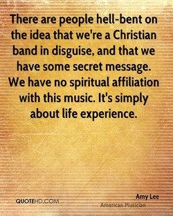*There are people hell-bent on 