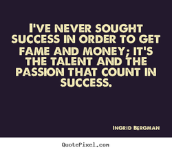 NEVER SOUGHT 