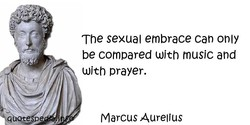The sexual embrace can only 