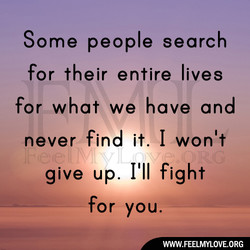 Some people search 