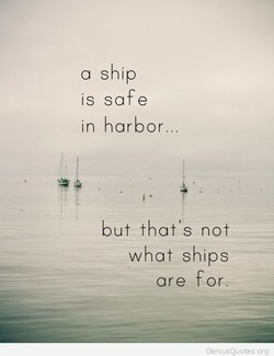 a ship 