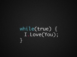 while(true) {